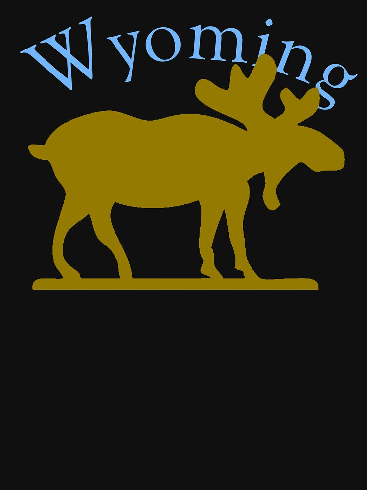 Wyoming Moose by pjwuebker