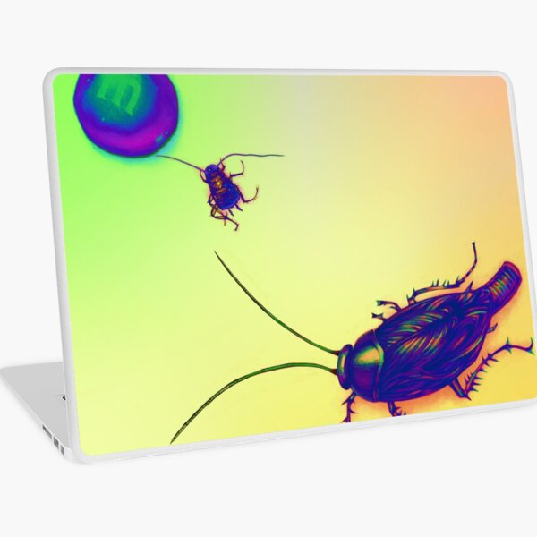 Cockroach and Candy Laptop Skin