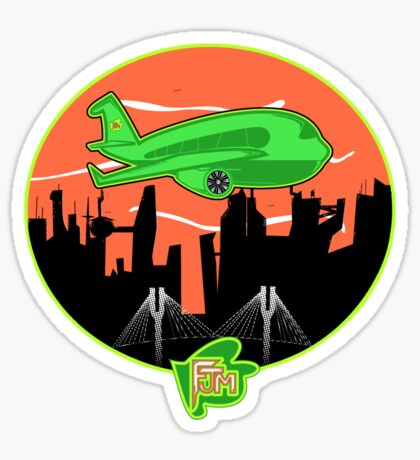 (Plane Jane)  Unisex Sticker