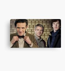 The Power Of Three Canvas Print