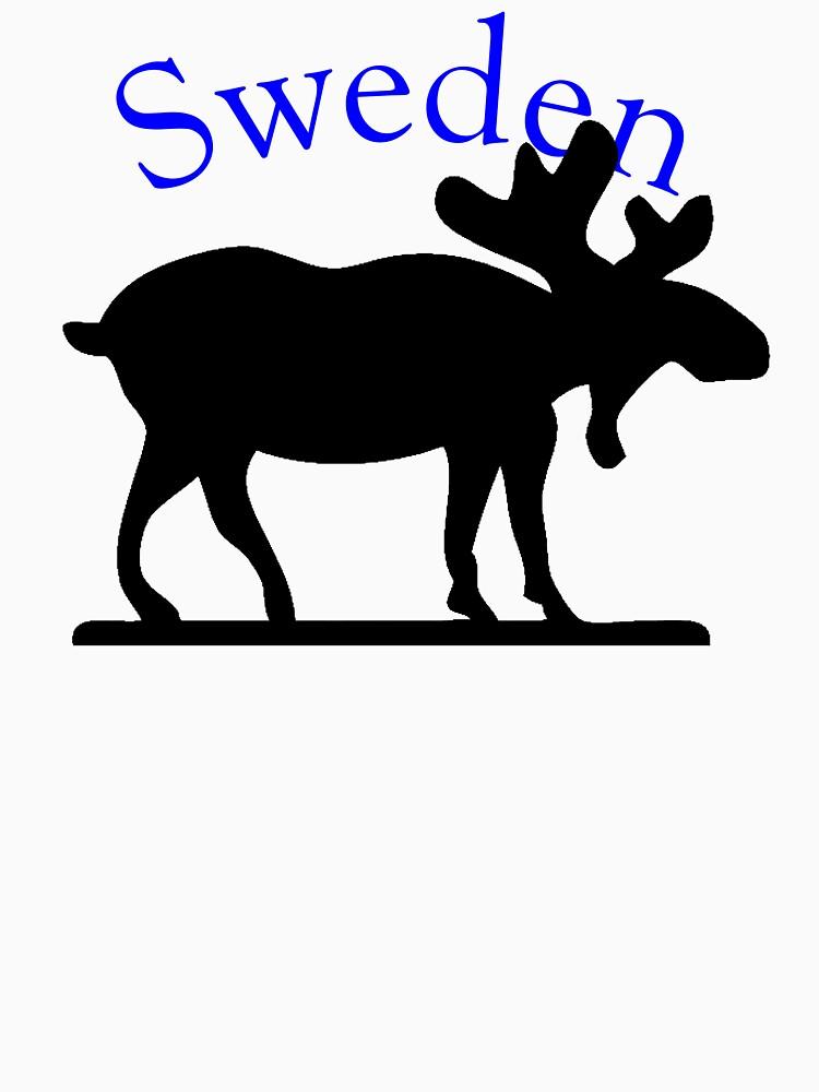 Sweden Moose by pjwuebker