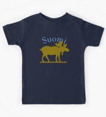 Suomi Moose Kids Tee