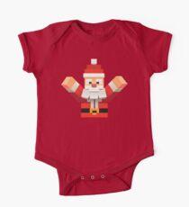Santa Claus  One Piece - Short Sleeve