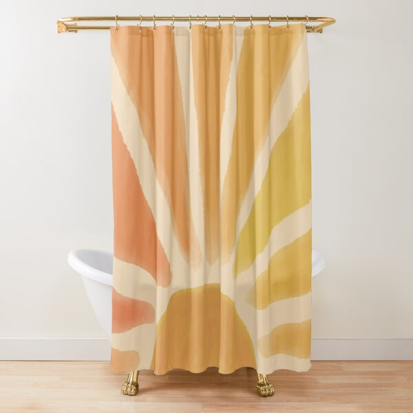 Sun Happiness  Shower Curtain