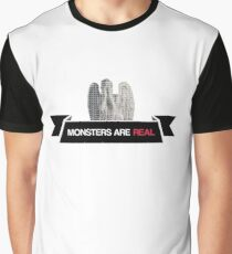 monsters are real (weeping angel version 3) Graphic T-Shirt