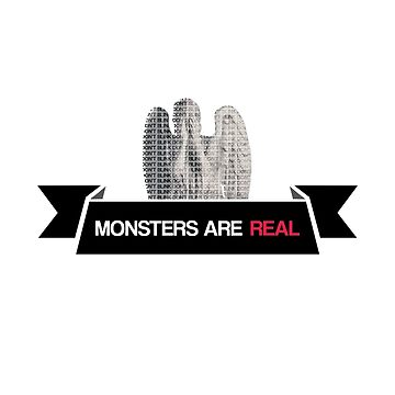 monsters are real (weeping angel version 3) by dclete