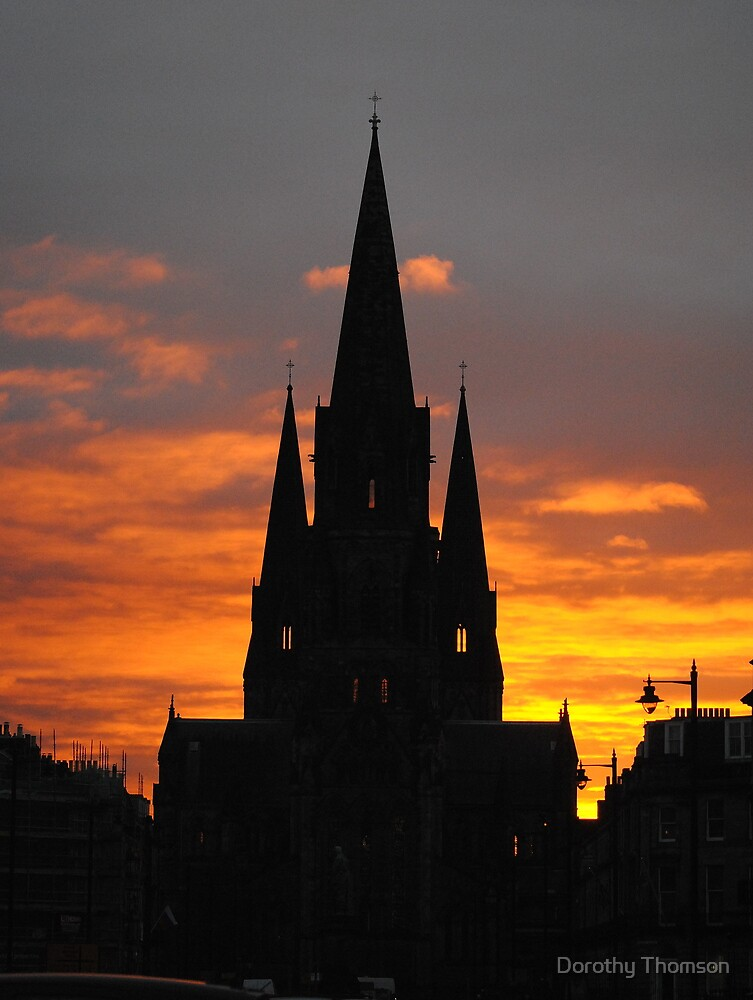 St Mary's Cathedral, Edinburgh by Dorothy Thomson