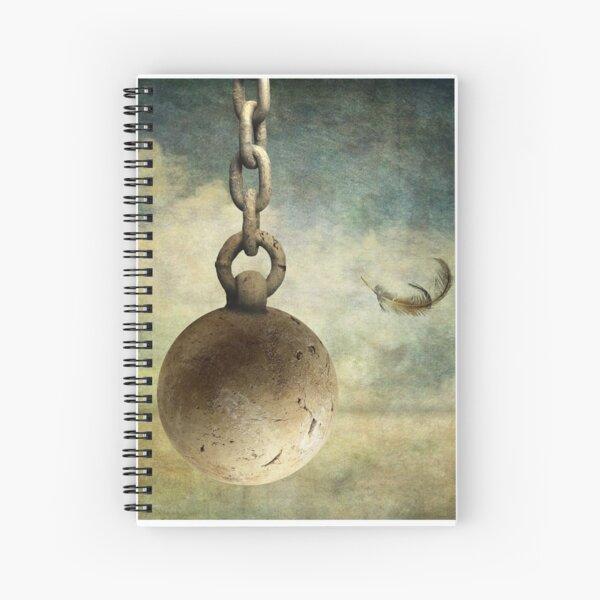 destruction Spiral Notebook
