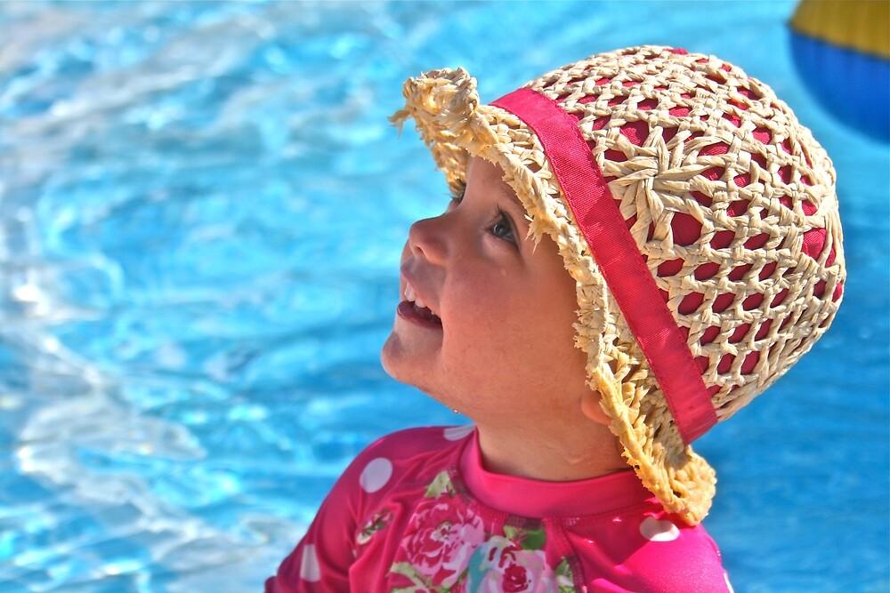 lila pool hat by grimbomid
