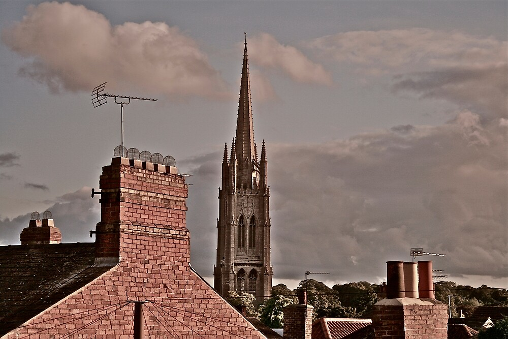 St James Louth by grimbomid