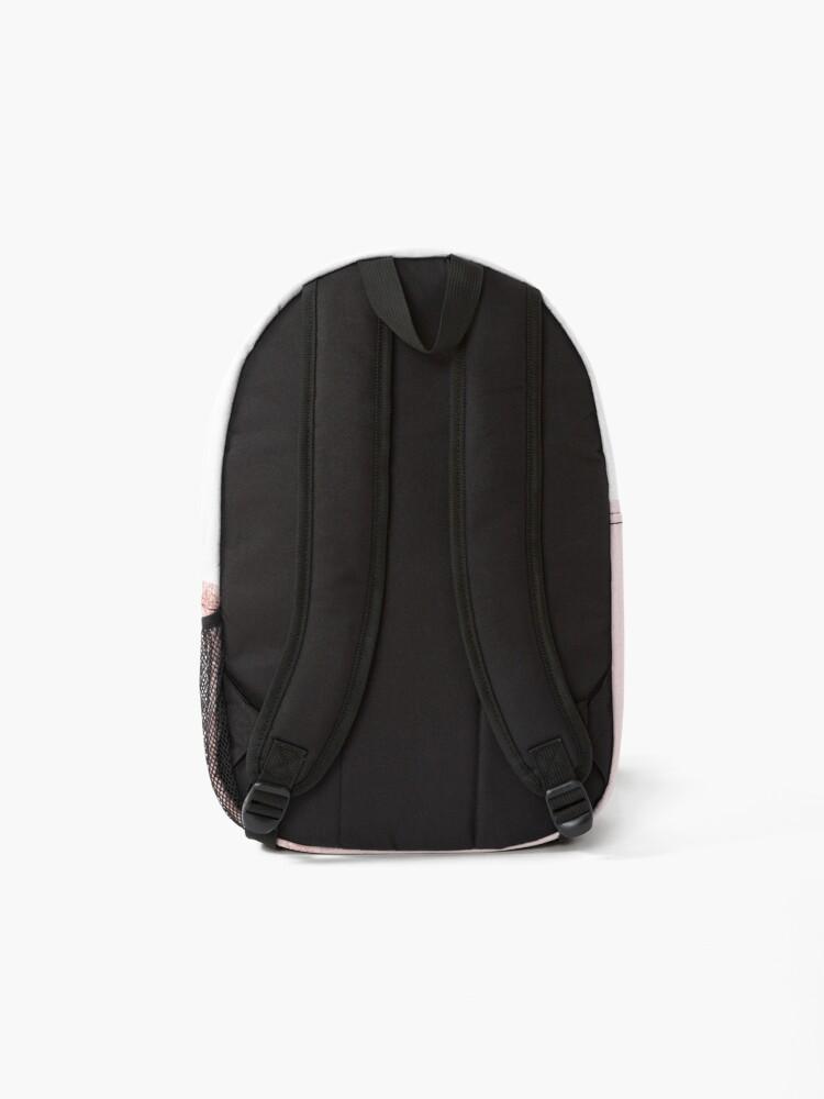 Alternate view of Blush Rosegold Glitter  Backpack