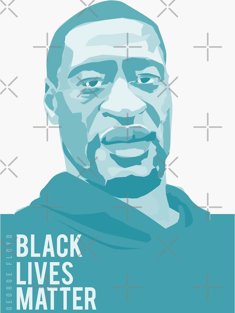 george floyd (black lives matter) by mayerarts