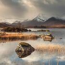 Loch Na h-Achlaise on Rannoch Moor by Brian Kerr
