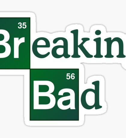 Breaking Bad Logo Sticker