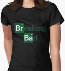 Breaking Bad Logo Womens Fitted T-Shirt