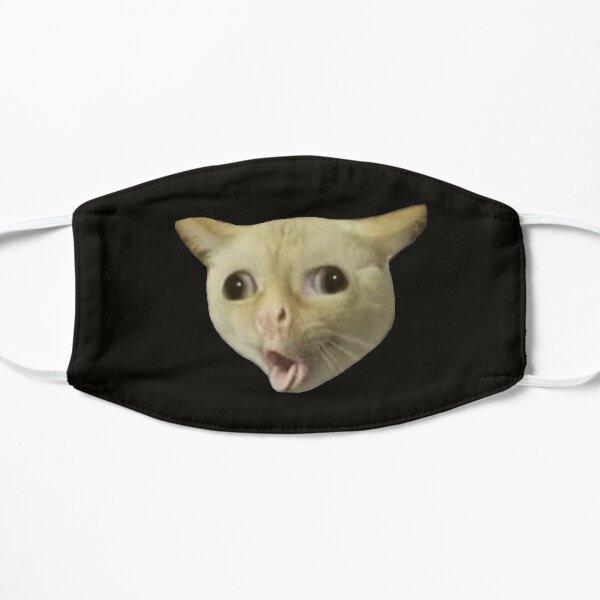Chat qui tousse meme Masque sans plis
