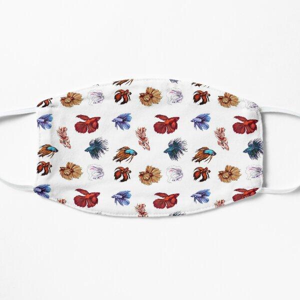 Betta fishes Flat Mask