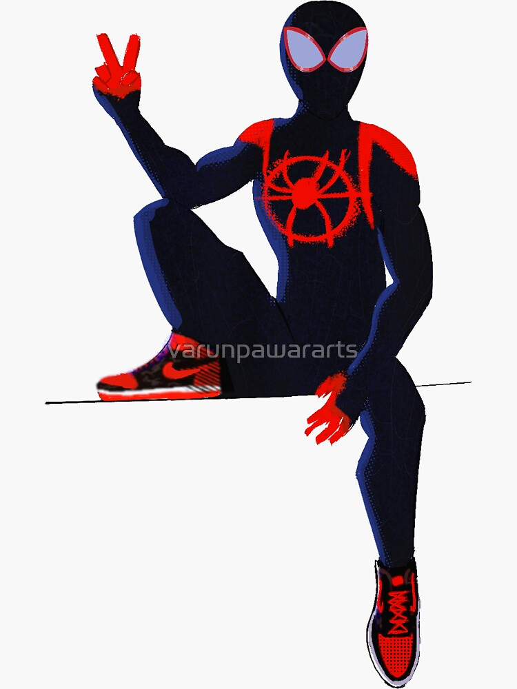 Spiderverse : Miles morales by varunpawararts
