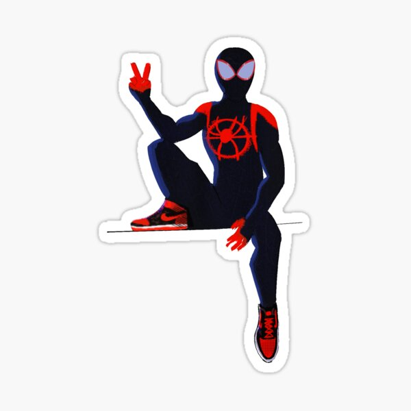 Spiderverse : Miles morales Sticker