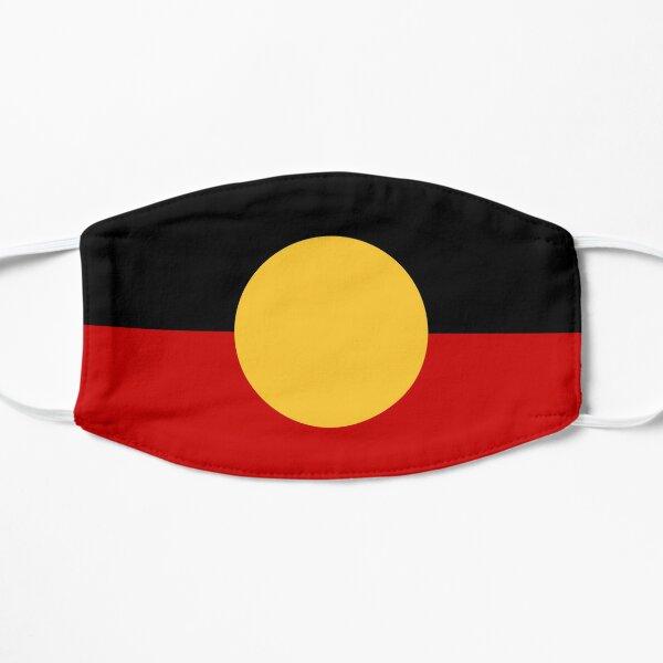 Australian Aboriginal Flag T-shirt Flat Mask