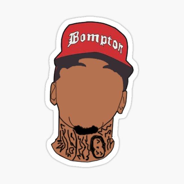 YG Bompton Art Sticker