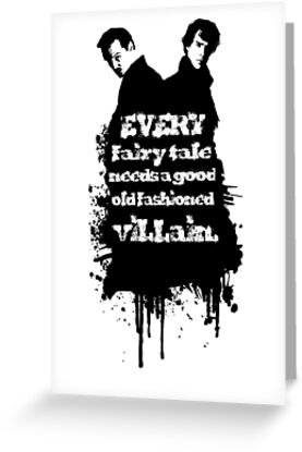 Every fairy tale needs a good old fashioned villain. by ALienated