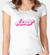 Beautiful Women's Fitted Scoop T-Shirt
