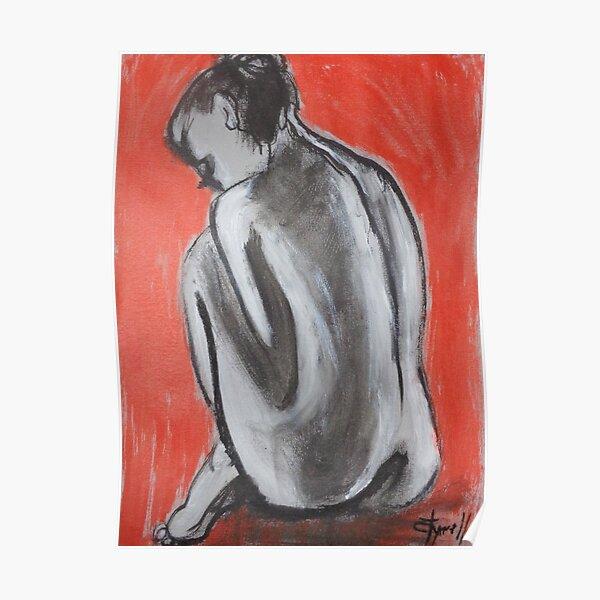 Posture 3 - Female Nude Poster