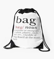 Drawstring Bag Defined Drawstring Bag