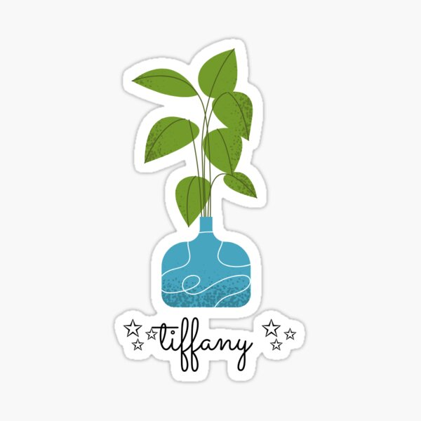 Tiffany the plant  Sticker