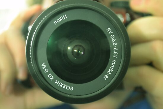 Camera Lense by rebeccahen