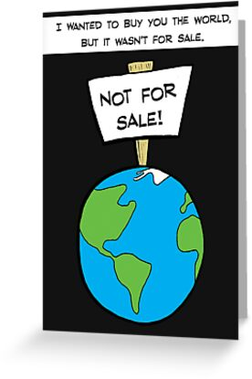 I Wanted To Buy You The World by Robin Taylor