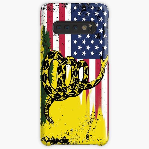 American Gadsden Flag Worn Samsung Galaxy Snap Case