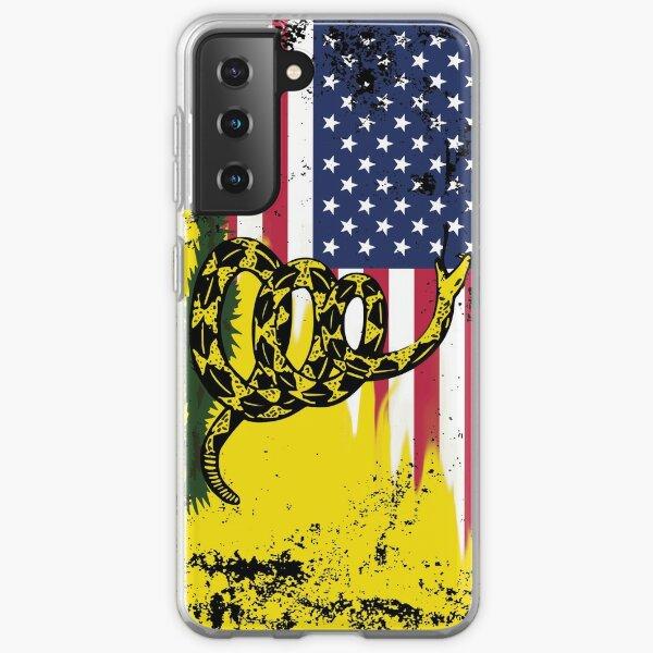 American Gadsden Flag Worn Samsung Galaxy Soft Case
