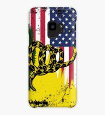 American Gadsden Flag Worn Case/Skin for Samsung Galaxy