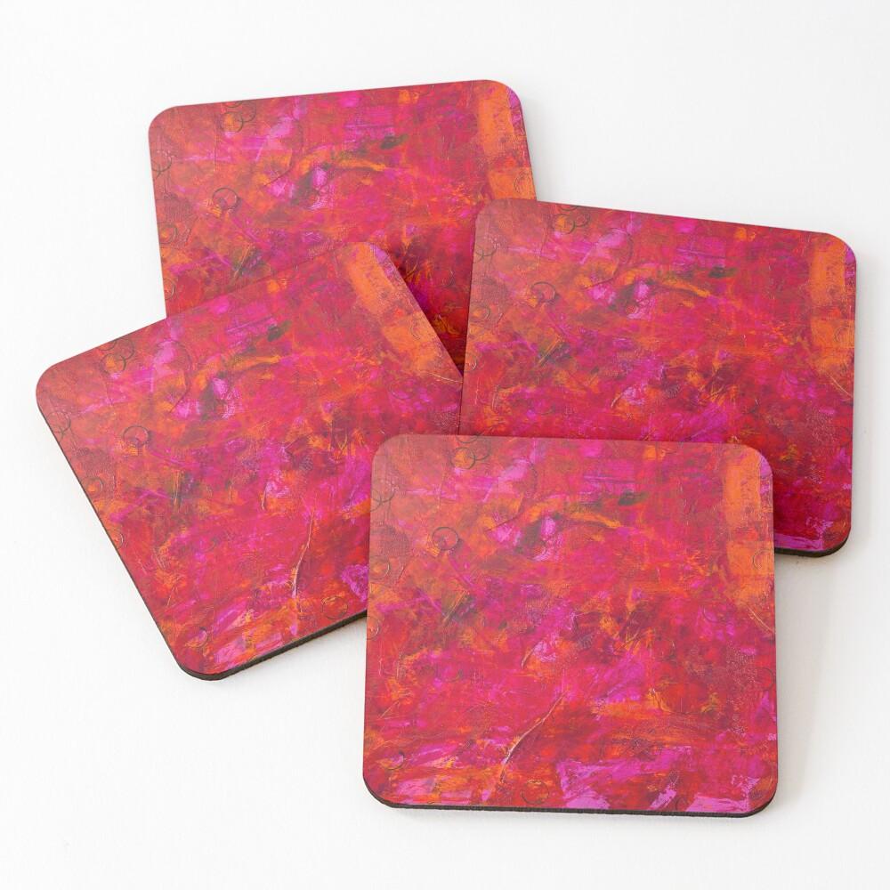 Scars #2 Coasters (Set of 4)