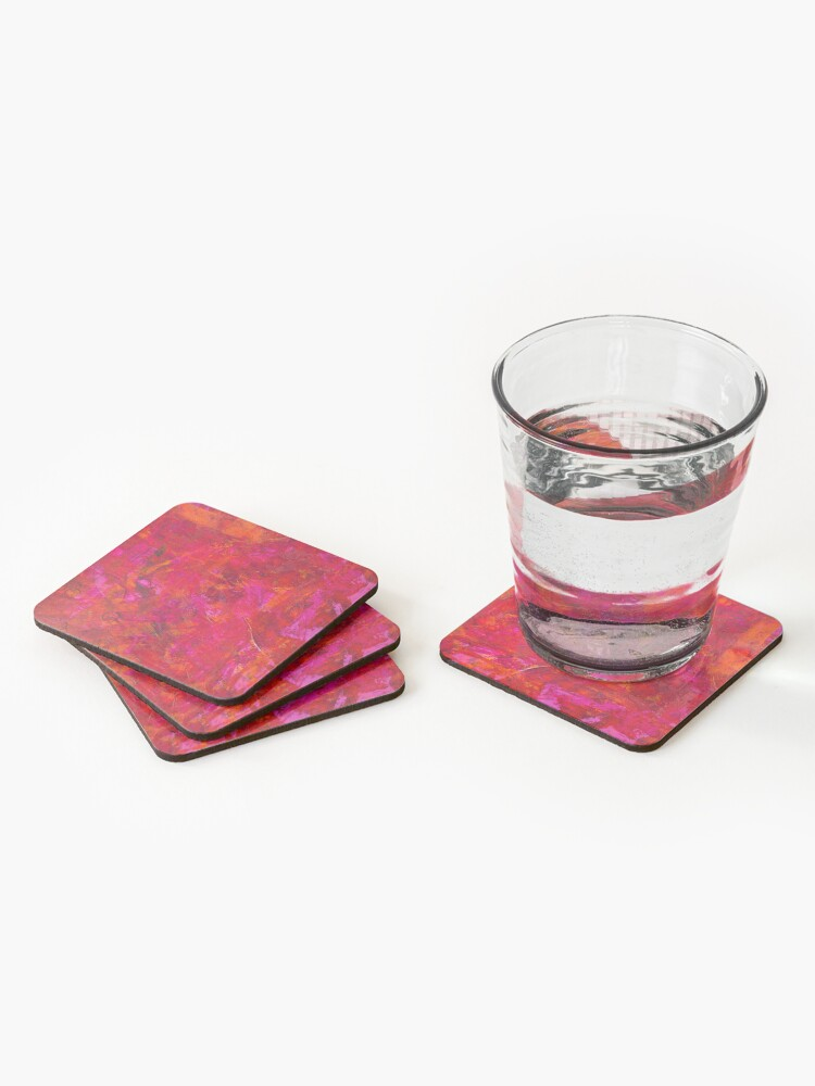 Alternate view of Scars #2 Coasters (Set of 4)
