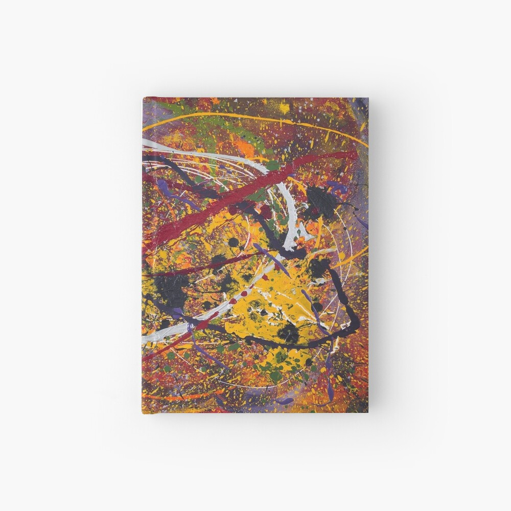 The Chaos of Going with the Flow #1 Hardcover Journal