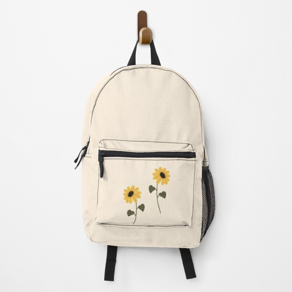 Sunflower aesthetic Backpack
