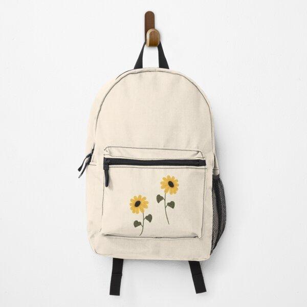 Sunflower aesthetic Backpack