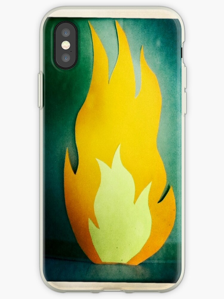 Fireplace iPhone/iPod Case by Viet