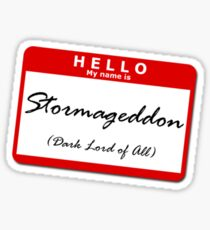 Stormageddon Sticker