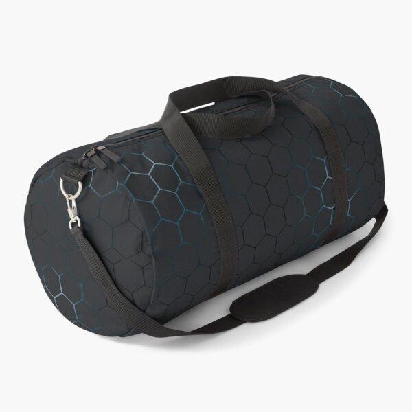 Futuristic honeycomb  Duffle Bag