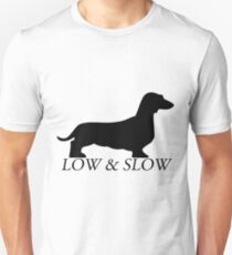 Low and Slow black Unisex T-Shirt