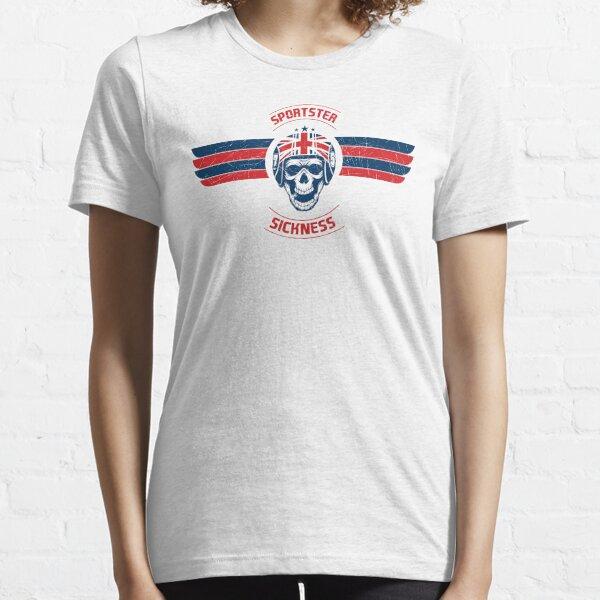 Sportster Sickness - Custom UK Essential T-Shirt