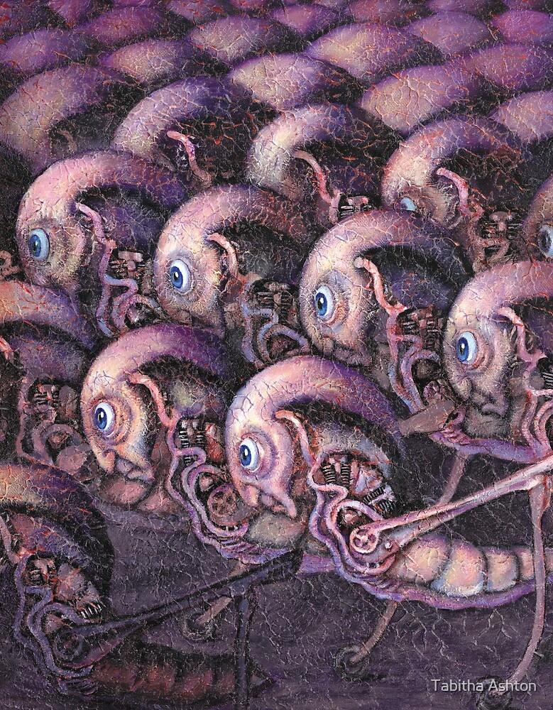 Portrait of Society as a Plague of Locusts by Tabitha Ashton