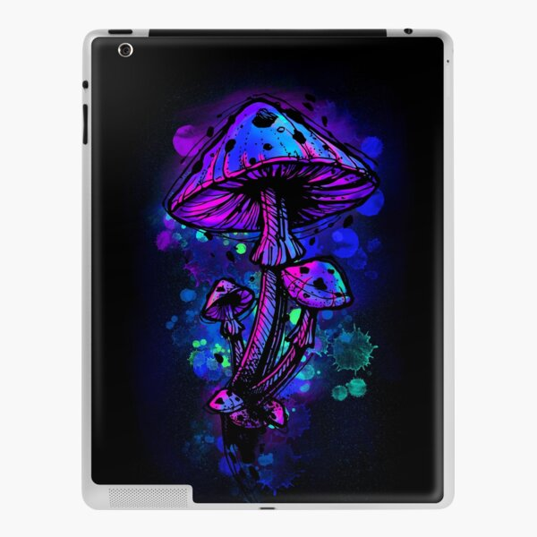 Psychedelic Mushrooms iPad Skin