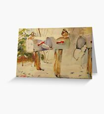 Winter Mail Greeting Card