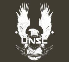 UNSC Logo White | Unisex T-Shirt