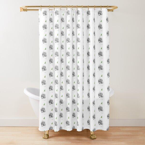 Sunkissed Sunman Shower Curtain